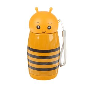 """Термос """"Пчёлка"""", 280 мл, 7х16.5 см - фото 1387311"""