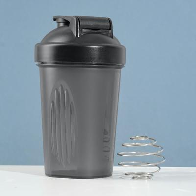 Shaker 450 ml, ball, black, 9х17 cm
