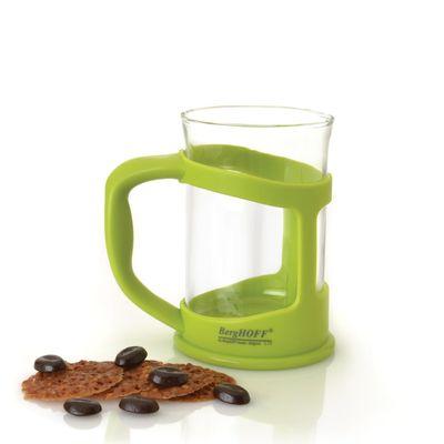 Кофейная, чайная чашка Studio, цвет лайм, 0.2 л, 2 шт.