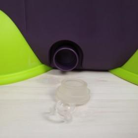 Набор для уборки: ведро на ножках с педальным отжимом и металлической центрифугой 20 л, швабра, запасная насадка из микрофибры, дозатор, цвет МИКС - фото 4644022