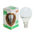 Лампа светодиодная Sky Lark, E14, G45, 4,5 Вт, 2700 K, теплый белый