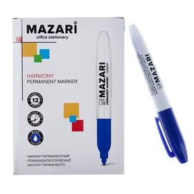 Маркер перманентный 2.0 мм Harmony М-5001, синий