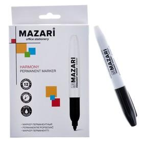 Маркер перманентный 2.0 мм, Harmony, чёрный, М-5001