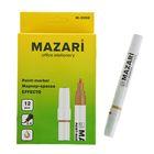 Маркер-краска (лаковый) 2.0 MAZARi Effecto золотой М-5008