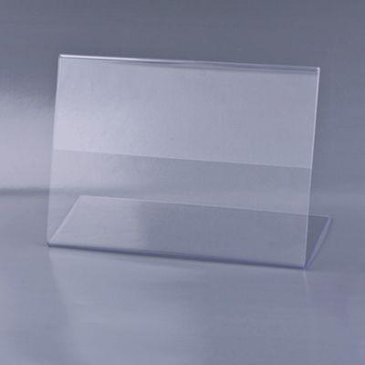 Держатель для ценника А6, горизонтальный, 150х105мм, настольный, односторонний, оргстекло, в защитной плёнке