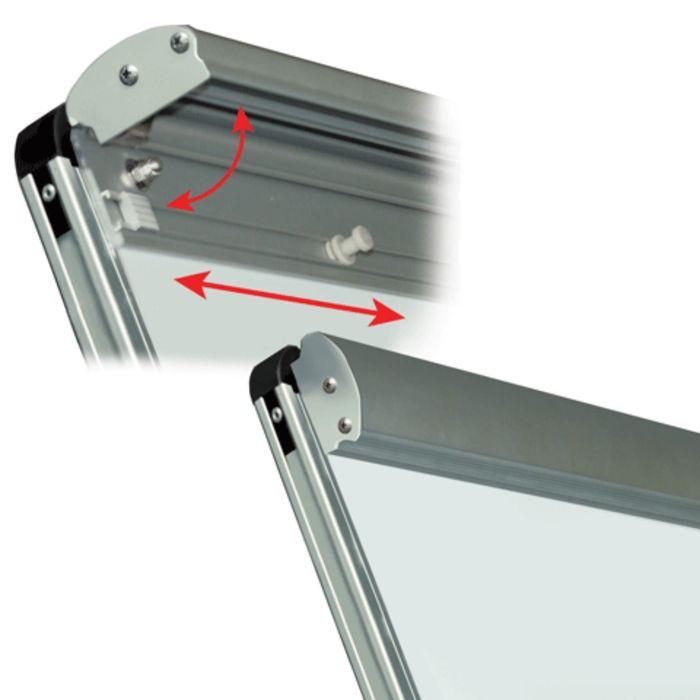 Зажим-держатель блокнота для магнитно-маркерных досок, магнитный, съёмный