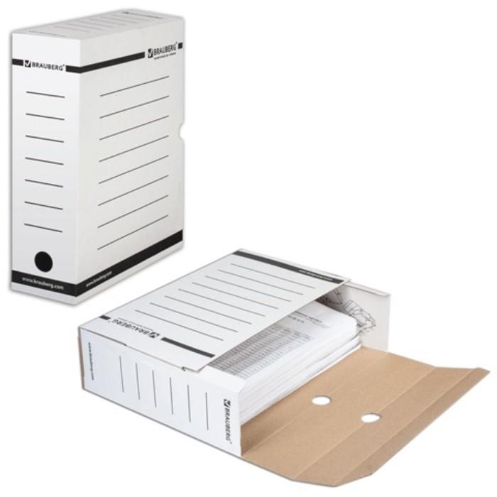 Накопитель документов, Лоток-коробка, 100мм, белый, до 900 листов