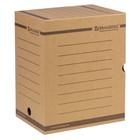 Накопитель документов, лоток-коробка, 200 мм, бурый, до 1800 листов