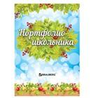 Портфолио школьника, 16 листов: титульный лист, содержание, 14 разделов «Окружающий мир»
