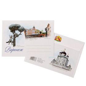 Конверт почтовый С6 'Воронеж', с клеевым слоем Ош