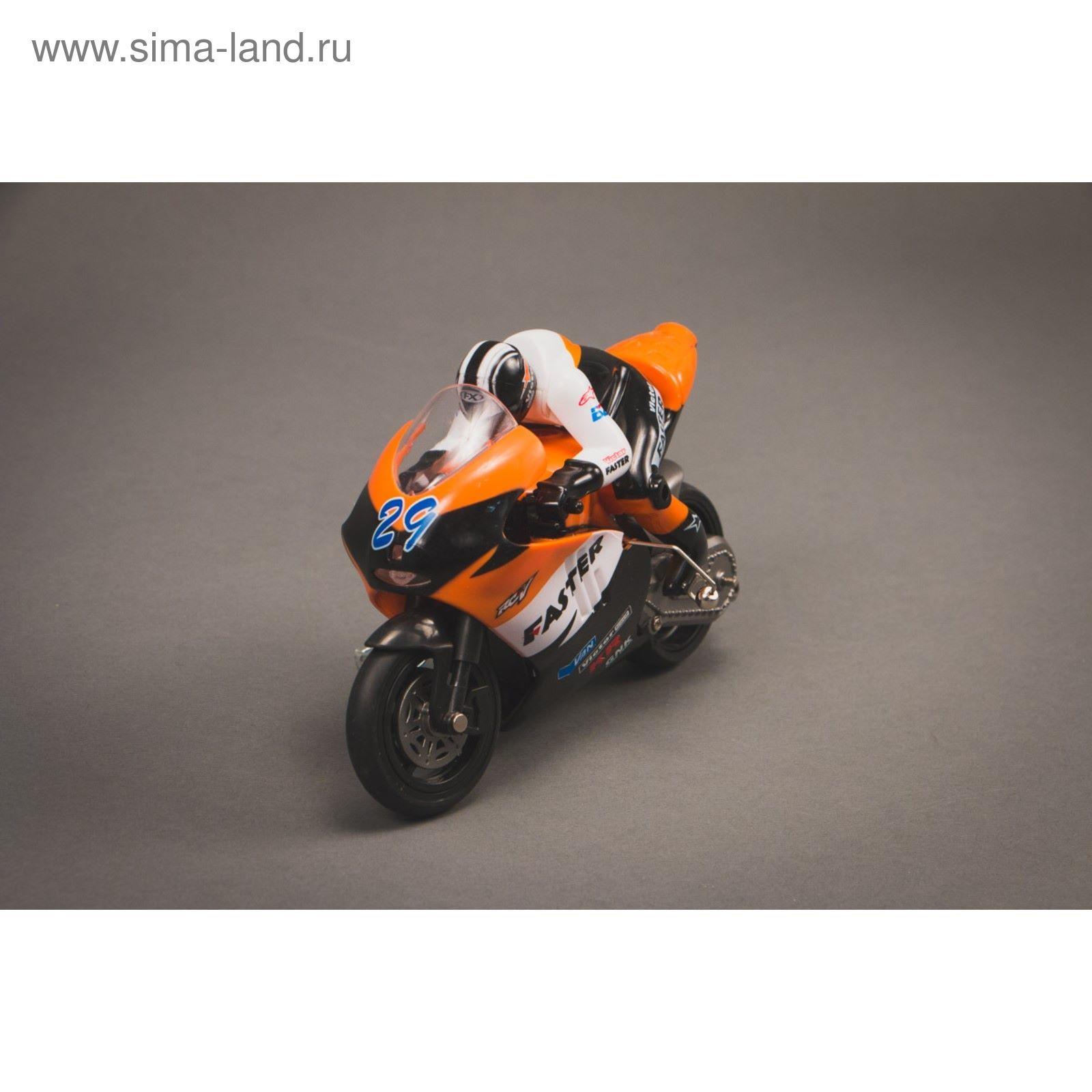Радиоуправляемая модель мотоцикла Great Wall Toys 1/10 CVT