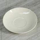 Блюдце d=14 см, белое