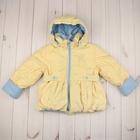 """Куртка для девочки """"РОМАНТИКА"""", рост 110 см, цвет лимонный 5 вида 01"""
