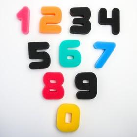 Купалки-мочалки «Цифры», набор 10 шт.