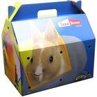 """Переноска Super Pet """"T-H B""""для грызунов,картон, 27.5х18.5х22.3см"""