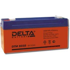 Аккумуляторная батарея Delta DTM6032, 6 В, 3.2 А/ч Ош