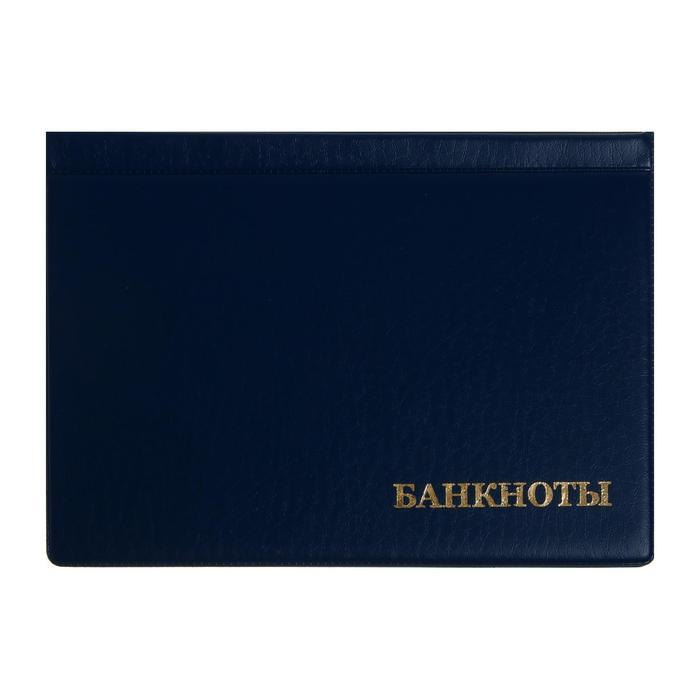 Альбом для Бон 125х185мм, на 16 банкнот, обложка ПВХ, микс