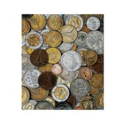 Альбом для монет на кольцах, Оптима, 225 х 265 мм, обложка ламинированный картон