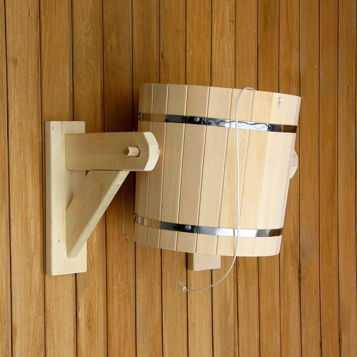 Обливное устройство 20 л. со вставкой из нержавеющей стали, обод нержавеющая сталь ПРОМО