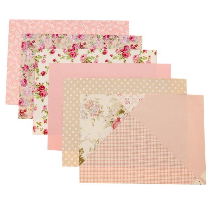 Набор самоклеящихся тканей «Уютные оттенки», 21 × 29.5 см