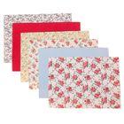 Набор самоклеящихся тканей «Праздник цветов», 21 × 29.5 см