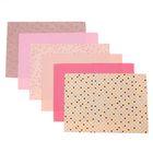 Набор самоклеящихся тканей «Нежность розового», 21 × 29.5 см