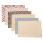 Набор самоклеящихся тканей «Стильная геометрия», 21 × 29.5 см