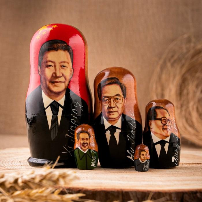 "Матрешка ""Китай""  5 кукол, малая"