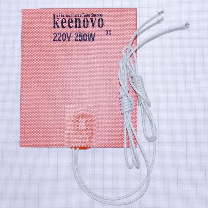 Гибкая нагревающая пластина 250 Вт 220 В (127х152) (темп.90) Keenovo