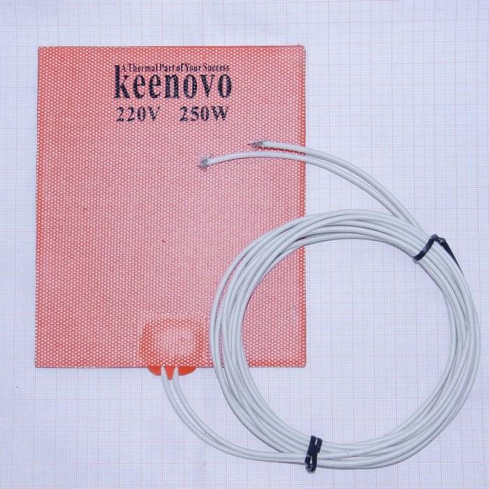 Гибкая нагревающая пластина 250 Вт 220 В (127х152) Keenovo