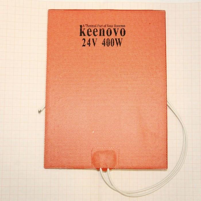 Гибкая нагревающая пластина 400 Вт 24 В (152х203) (темп.90) Keenovo