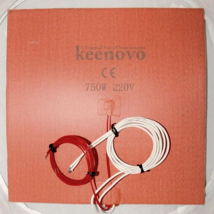 Гибкая нагревающая пластина 750 Вт 220 В (300х300) (NTC) Keenovo
