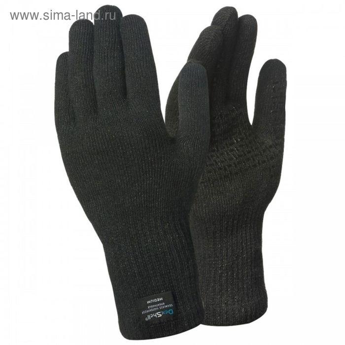 Перчатки водонепроницаемые Dexshell ToughShield черные M