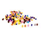 Бусины для термомозаики, набор 50 гр, цвета МИКС, d бусины: 5 мм - фото 7409955