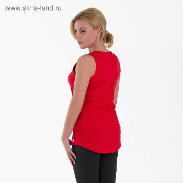 Майка KAFTAN basic, красный, р-р XS(42) 92 % хл., 8 % лайкра