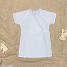Рубашка для крещения, рост 68 см, цвет белый 00318-08_М