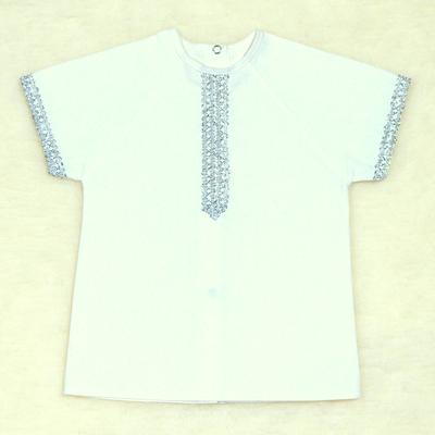 Рубашка для крещения 00319-08, цвет белый, рост 86 см