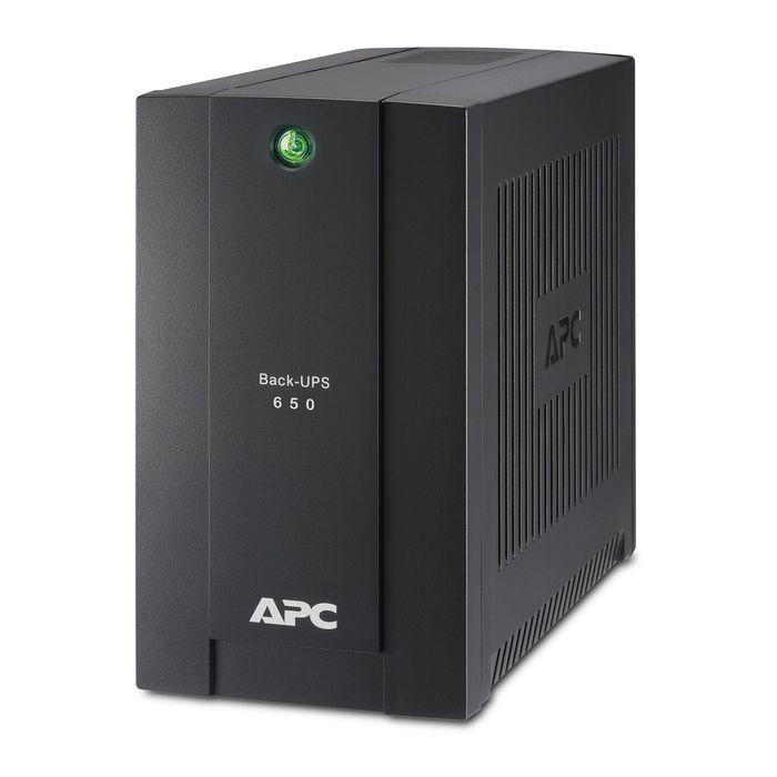 Источник бесперебойного питания APC Back-UPS BC650-RSX761, 360 Вт, 650 ВА, черный