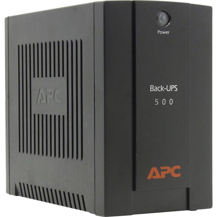Источник бесперебойного питания APC Back-UPS BX500CI, 300 Вт, 500 ВА, черный