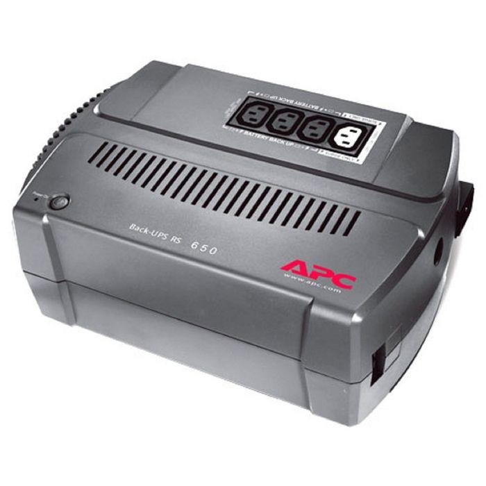 Источник бесперебойного питания APC Back-UPS BX650CI-RS, 390 Вт, 650 ВА, черный