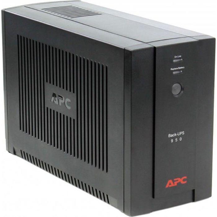 Источник бесперебойного питания APC Back-UPS BX950UI, 480 Вт, 950 ВА, черный