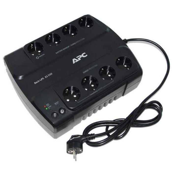 Источник бесперебойного питания APC Back-UPS ES BE550G-RS, 330 Вт, 550 ВА, черный