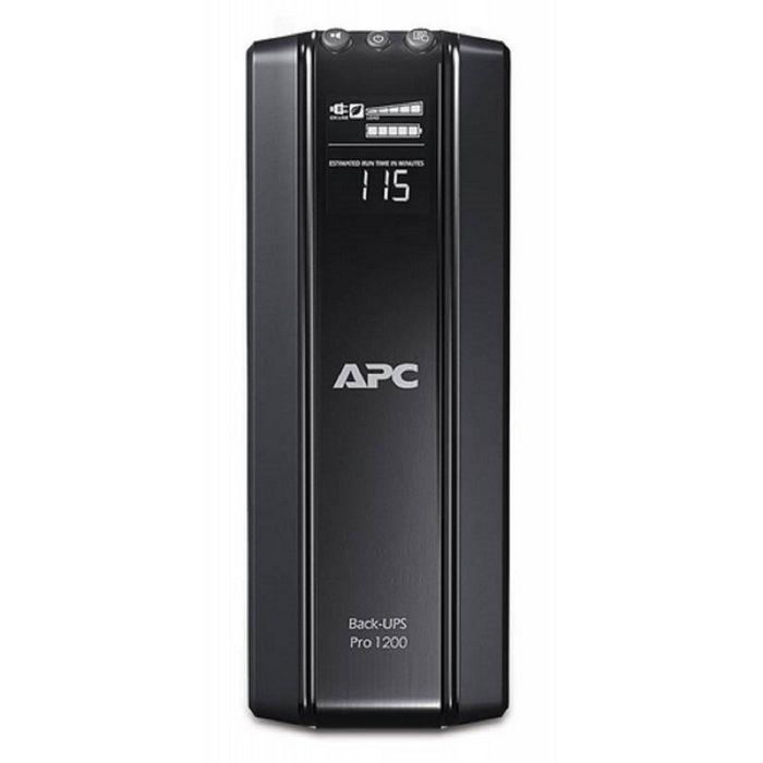 Источник бесперебойного питания APC Back-UPS Pro BR1200GI, 720 Вт, 1200 ВА, черный