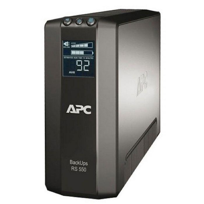 Источник бесперебойного питания APC Back-UPS Pro BR550GI, 330 Вт, 550 ВА, черный