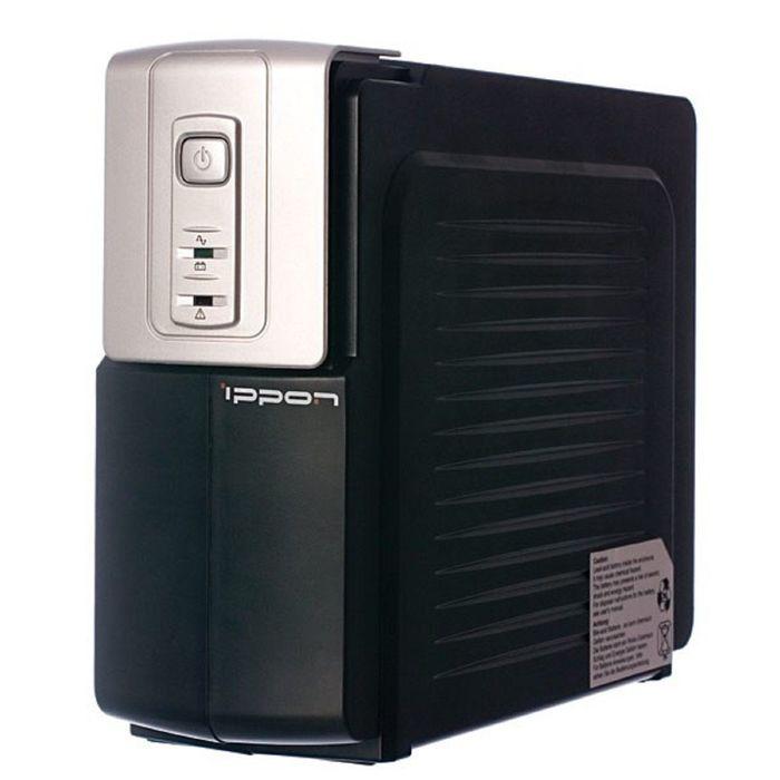 Источник бесперебойного питания Ippon Back Office 1000, 600 Вт, 1000 ВА, черный