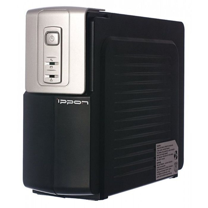 Источник бесперебойного питания Ippon Back Office 400, 200 Вт, 400 ВА, черный