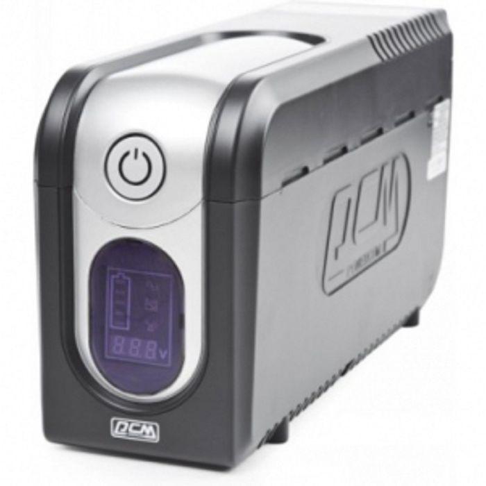 Источник бесперебойного питания Powercom Imperial IMD-825AP, 495 Вт, 825 ВА, черный