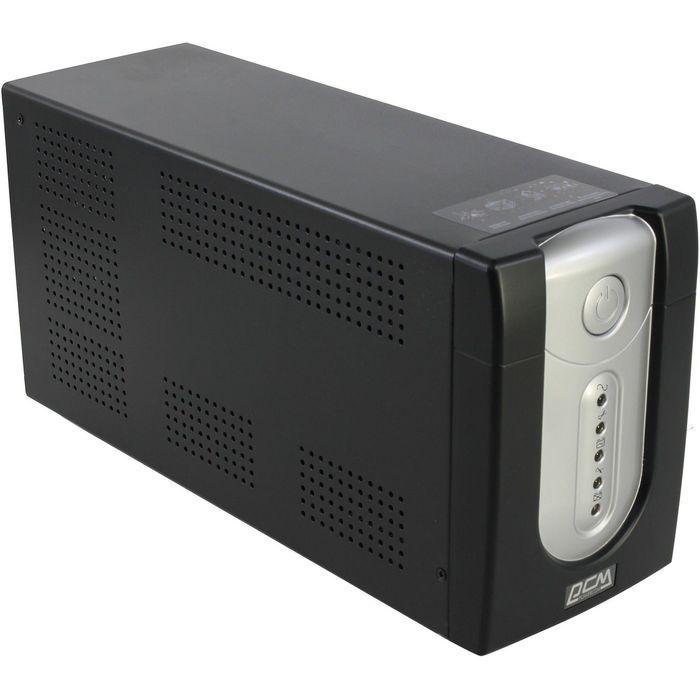 Источник бесперебойного питания Powercom Imperial IMP-2000AP, 1200 Вт, 2000 ВА, черный