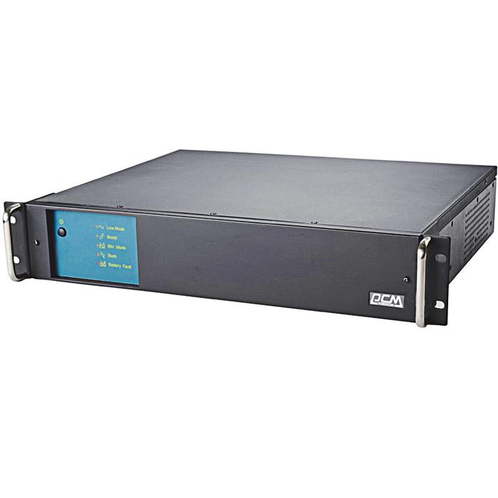 Источник бесперебойного питания Powercom King Pro RM KIN-3000AP, 1800 Вт, 3000 ВА, черный