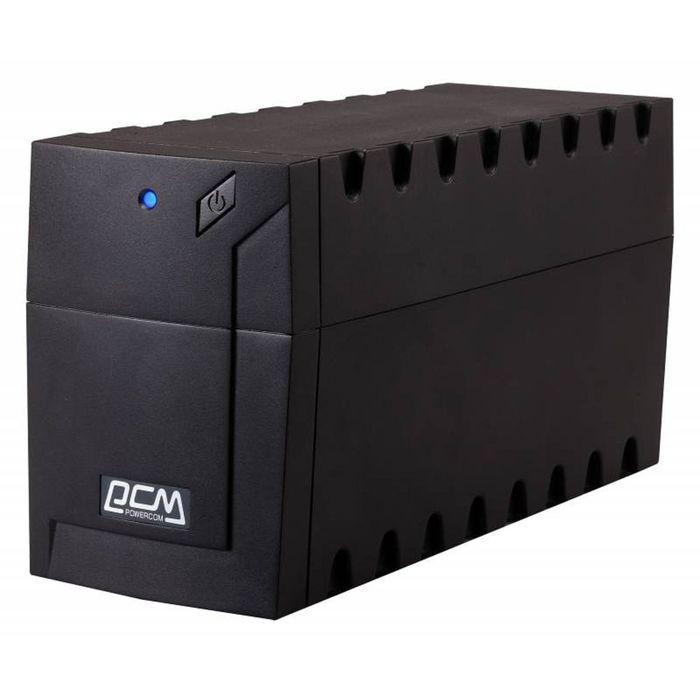 Источник бесперебойного питания Powercom Raptor RPT-1000A, 600 Вт, 1000 ВА, черный